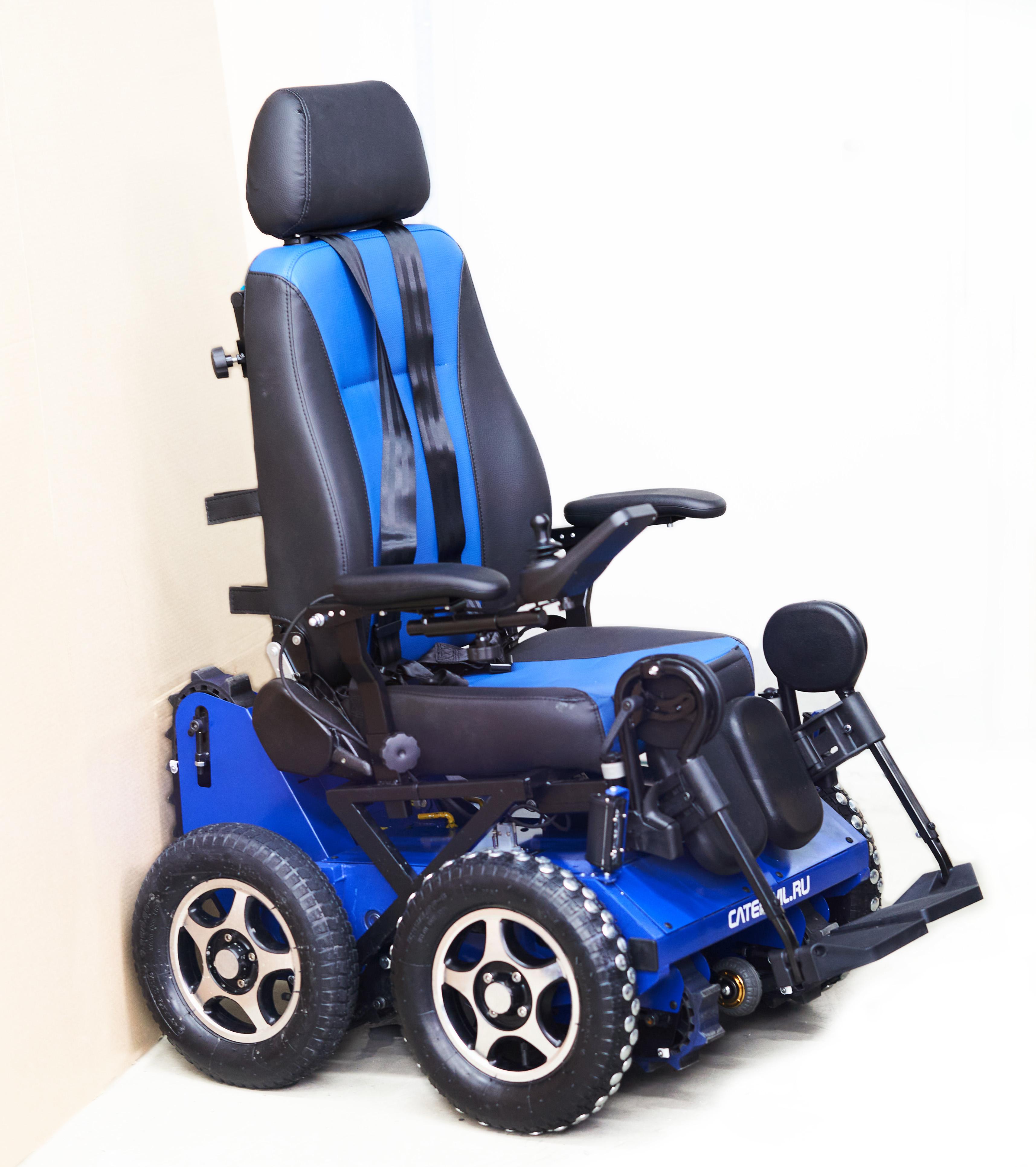 Кресло-коляска вездеход ступенькоход